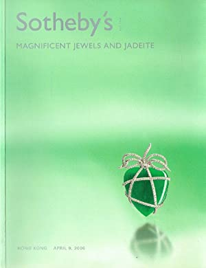 Sothebys April 2006 Magnificent Jewels & Jadeite: Sothebys