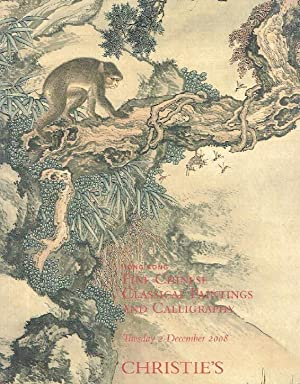 Christies December 2008 Fine Classical Chinese Paintings and Calligraphy