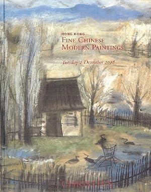 Christies December 2008 Fine Chinese Modern Paintings: Christies