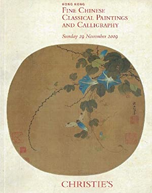 Christies November 2009 Fine Chinese Classical Paintings and Calligraphy
