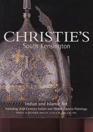 Christies 2004 Indian and Islamic Art &: Christies
