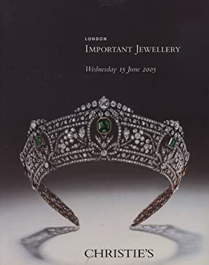 Christies June 2005 Important Jewellery: Christies