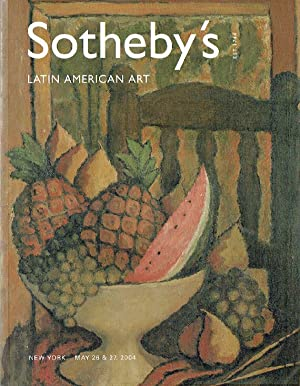 Sothebys May 2004 Latin American Art: Sothebys