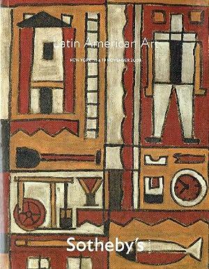 Sothebys November 2008 Latin American Art: Sothebys
