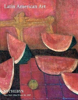 Sothebys May 1997 Latin American Art: Sothebys