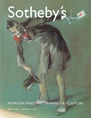 Sothebys March 2008 American Paintings, Drawings &: Sothebys