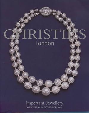 Christies November 2004 Important Jewellery: Christies