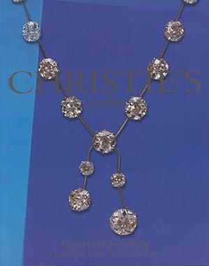 Christies June 2004 Important Jewellery: Christies