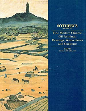 Sothebys April 1994 Fine Modern Chinese Paintings, Drawings & Sculpture
