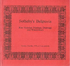 Sothebys May 1979 Fine Victorian Paintings, Drawings: Sothebys