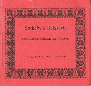 Sothebys October 1979 Fine Victorian Paintings, Drawings: Sothebys