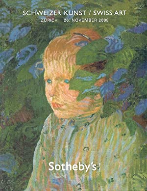Sothebys November 2008 Swiss Art: Sothebys