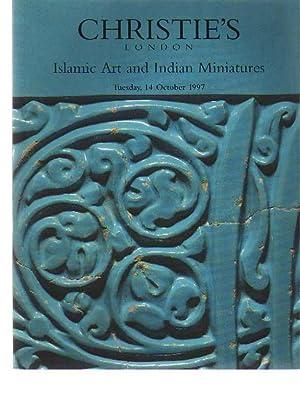 Christies October 1997 Islamic Art & Indian: Christies