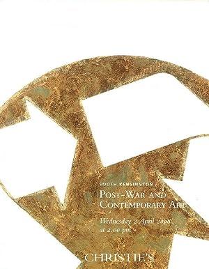Christies April 2008 Post-War & Contemporary Art: Christies