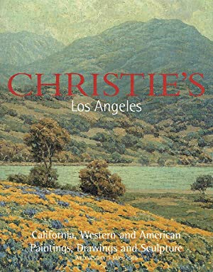Christies May 2000 California, Western, American Paintings: Christies