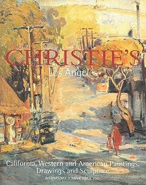 Christies November 2001 California, Western, American Paintings: Christies