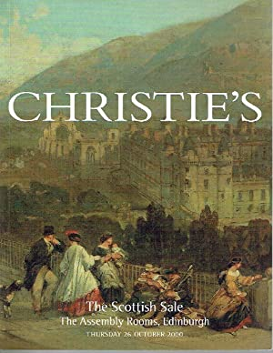Christies October 2000 The Scottish Sale The: Christies