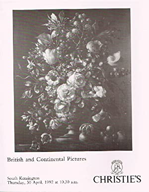 Christies April 1992 British & Continental Pictures: Christies