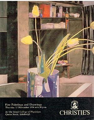Christies November 1994 Fine Paintings & Drawings: Christies