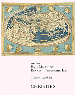 Christies April 2014 Maps - Kenneth Nebenzahl: Important Pair of Cary Globes