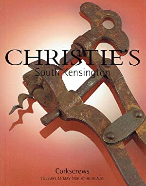 Christies May 2001 Corkscrews