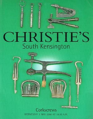 Christies May 2000 Corkscrews