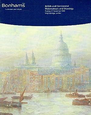 Bonhams September 2002 British & Continental Watercolours: Bonhams