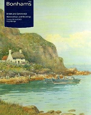 Bonhams April 2003 British & Continental Watercolours: Bonhams