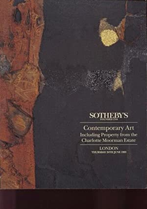 Sothebys 1993 Contemporary Art & Moorman Collection: Sothebys
