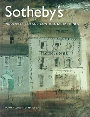 Sothebys March 2002 Modern British & Continental: Sothebys