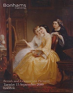 Bonhams September 2009 British and Continental Pictures: Bonhams