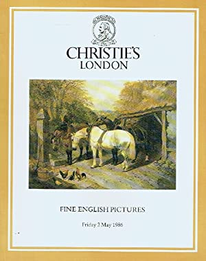 Christies May 1986 Fine English Pictures: Christies