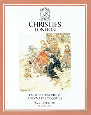 Christies July 1986 English Drawings and Watercolours: Christies