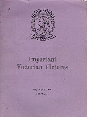 Christies May 1979 Important Victorian Pictures: Christies