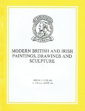 Christies June 1982 Modern British and Irish: Christies