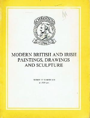 Christies March 1981 Modern British and Irish: Christies