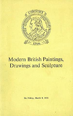 Christies March 1973 Modern British Paintings, Drawings: Christies