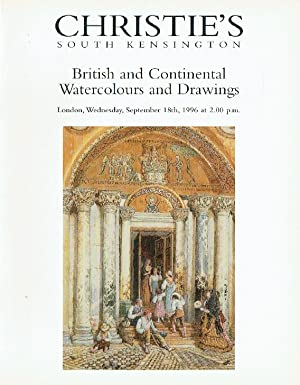 Christies September 1996 British and Continental Watercolours: Christies
