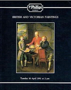 Phillips April 1991 British & Victorian Paintings: Phillips