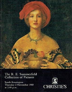 Christies November 1989 The R. E. Summerfield: Christies