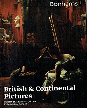 Bonhams January 2012 British and Continental Pictures: Bonhams