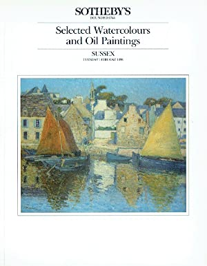 Sothebys May 1991 Selected Watercolours & Oil: Sothebys