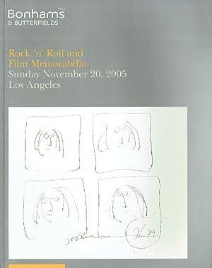 Bonhams November 2005 Rock 'n' Roll &: Bonhams