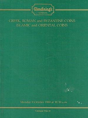 Glendinings October 1989 Greek, Roman, Byzantine, Islamic: Glendinings