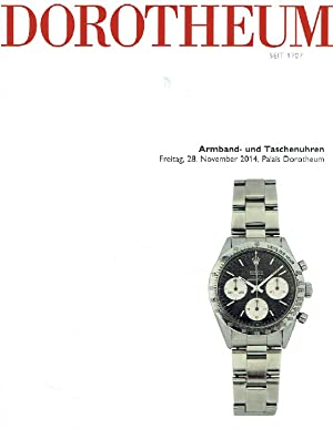 Dorotheum November 2014 Wristwatches & Pocket Watches: Misc.