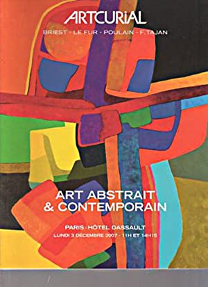 Artcurial 2007 Art Abstract & Contemporary