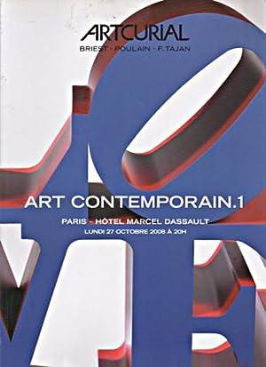 Artcurial 2008 Art Contemporary. I: Artcurial