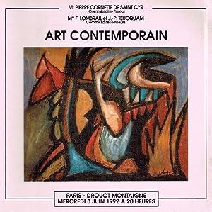 Cornette de St Cyr June 1992 Contemporary: Misc.