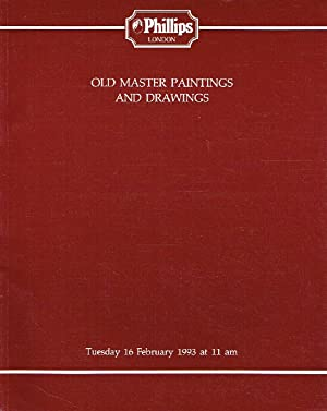 Phillips February 1993 Old Master Paintings &: Phillips