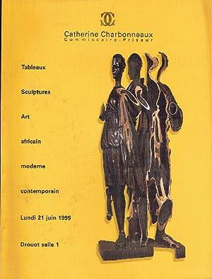 Charbonneaux June 1999 African Art, Modern &: Misc.